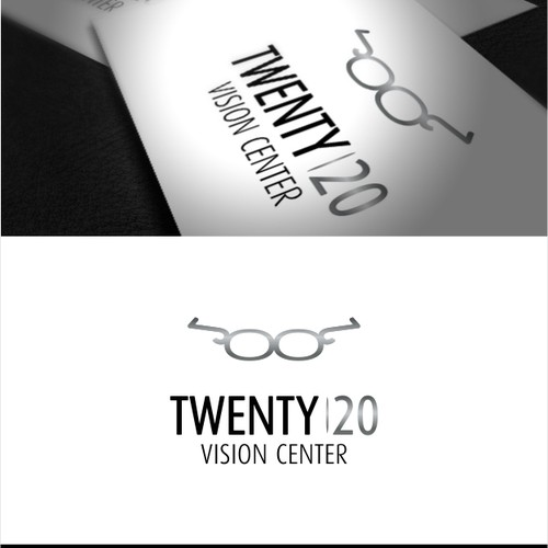 Vision design with the title 'logo for Twenty20'