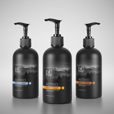 Packaging design for hand soap