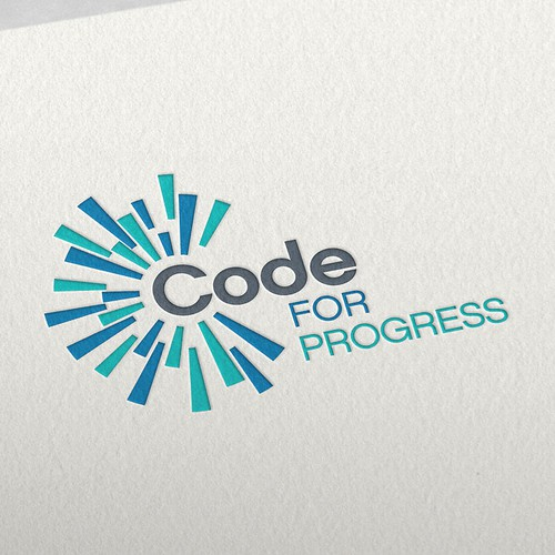 Coding logo with the title 'Coding Business Logo'