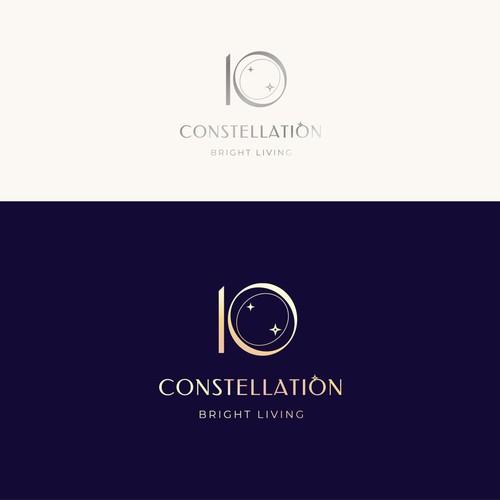 Ten design with the title 'Elegant logo design for ultra-luxury villas'