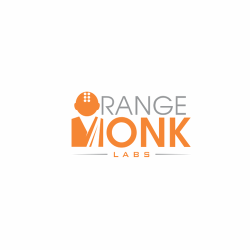 Monk logo with the title 'Orange Monk Labs'