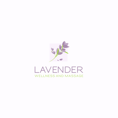 Lavender logo with the title 'Lavender'
