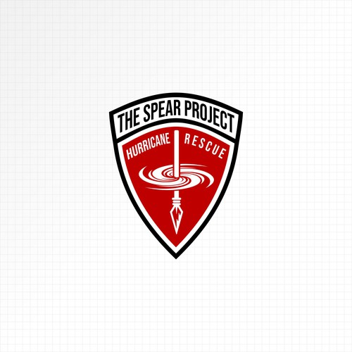 Spear logo with the title 'Logo For The Spear Project'