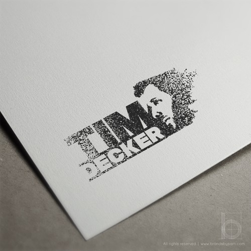 Wind design with the title 'Logo Design Concept for Tim Decker'