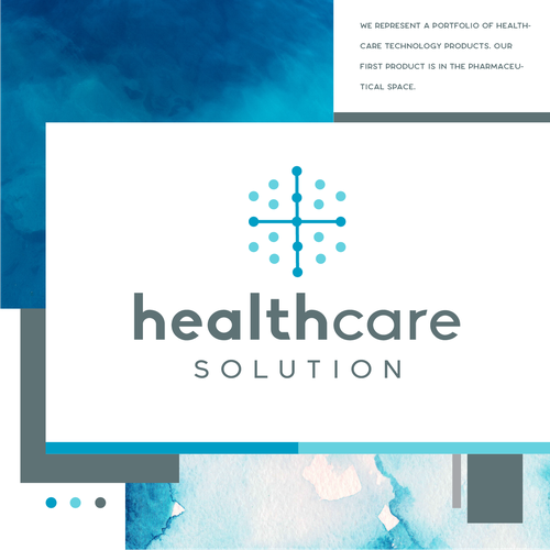 Care logo with the title 'Healthcare Solutions'
