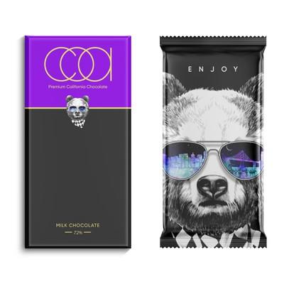 COA Chocolate Packaging Design