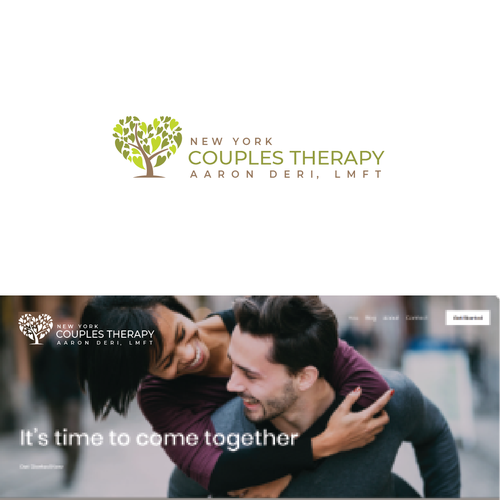 Help logo with the title 'New York Couples Therapy'
