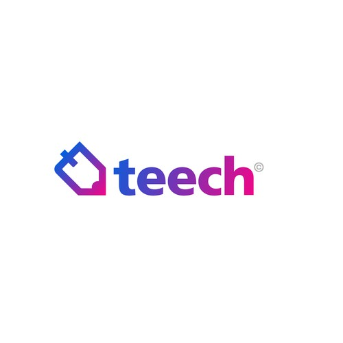 Platform logo with the title 'Teech'