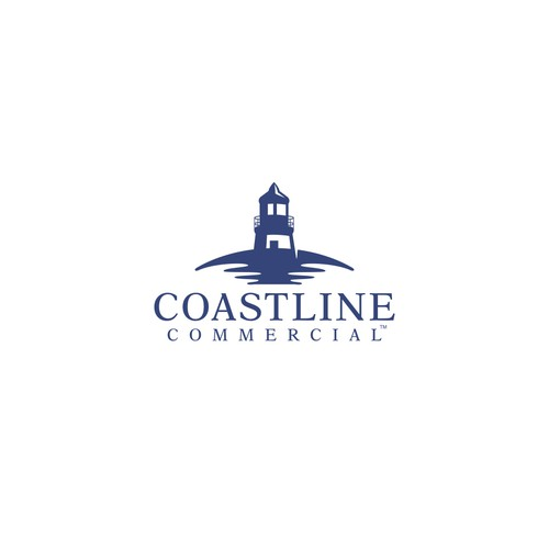 Ocean design with the title 'Logo for commercial real estate firm'
