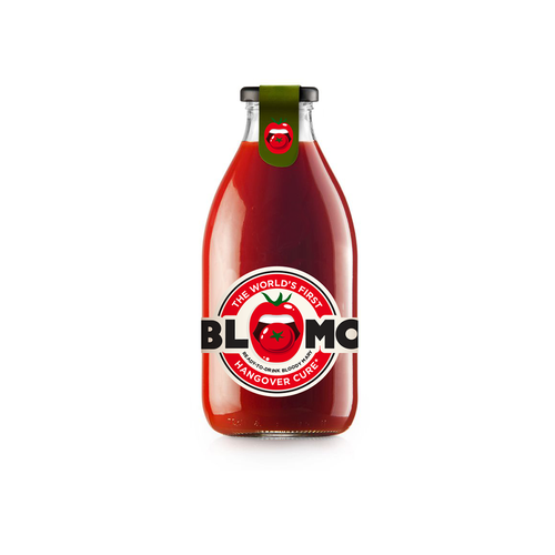 Ketchup logo with the title 'Logo concept for BLOMO'
