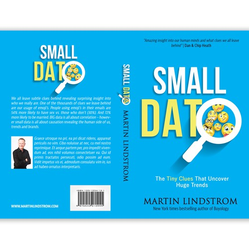 Marketing book cover with the title 'SMALL DATA'