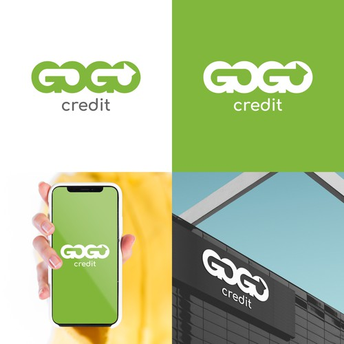 Credit logo with the title 'Logo for a Financial Company'