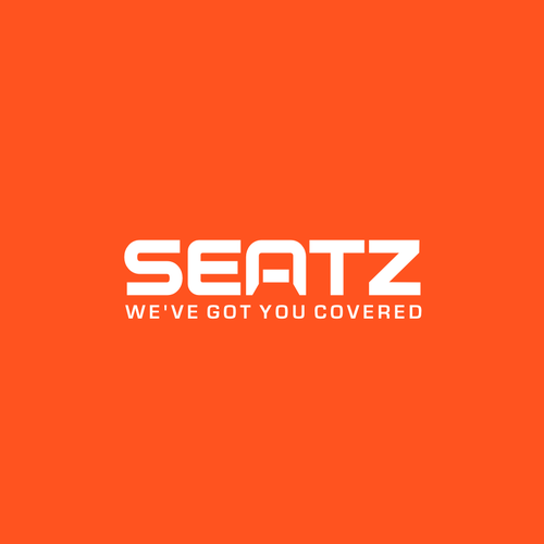 Chair logo with the title 'SEATZ'