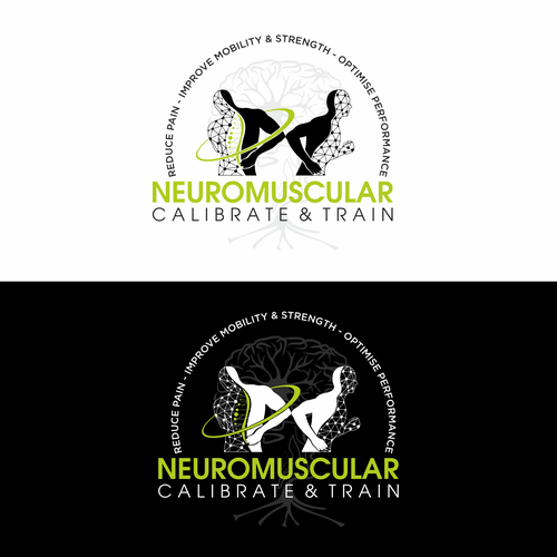Spine design with the title 'Physical Fitness logo'