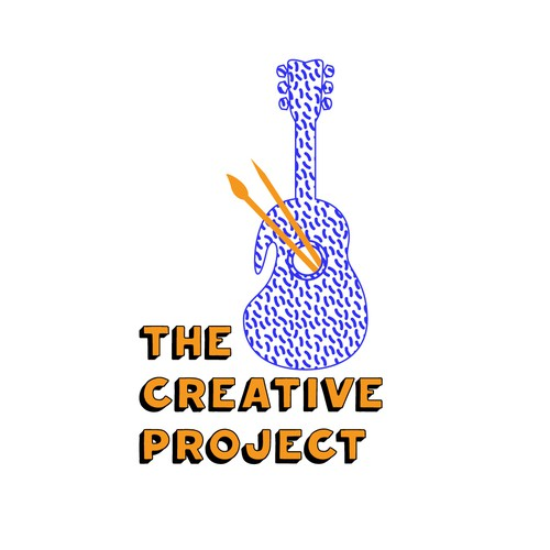 Palette design with the title 'The Creative Project'