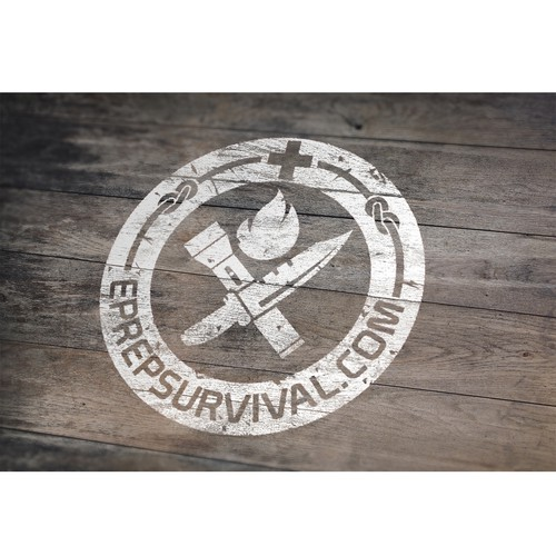 Disaster logo with the title 'Survival'