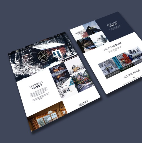 Appealing design with the title 'Modern Realtor Website'