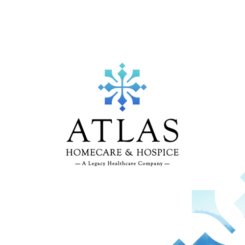 Service logo with the title 'Atlas HomeCare & Hospice'
