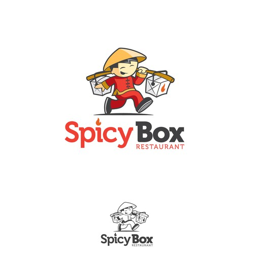 Spicy design with the title 'spicy box'