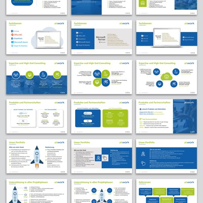 Appealing PowerPoint Presentation Design