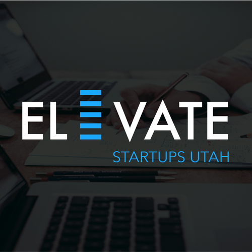 Utah logo with the title 'ELEVATE STARTUPS UTAH'