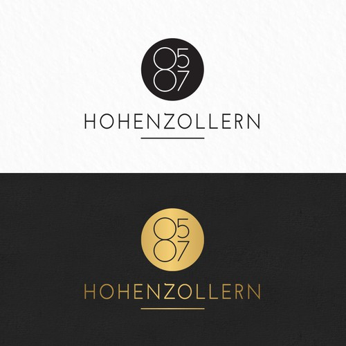 Facility logo with the title 'hohenzollern 85-87'