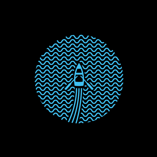 Boat t-shirt with the title 'Simple Wave'