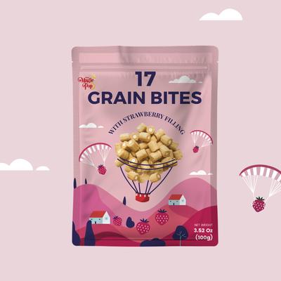 Grain Bites packaging design