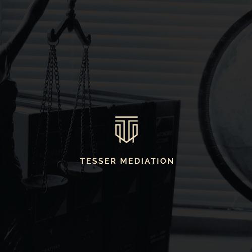 Monoline logo with the title 'TESSER MEDIATION'