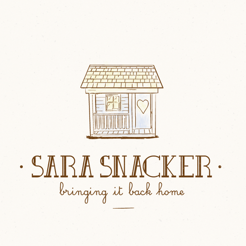 Cozy design with the title 'logo concept for a bakery'