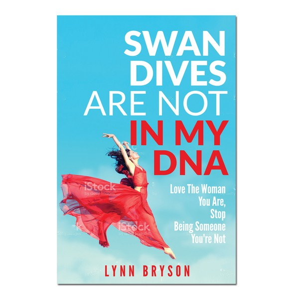 Powerful book cover with the title 'Swan Dives needs a powerful book cover'