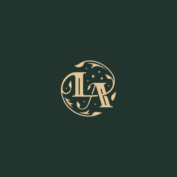 Author logo with the title 'Book Author Logo Design'
