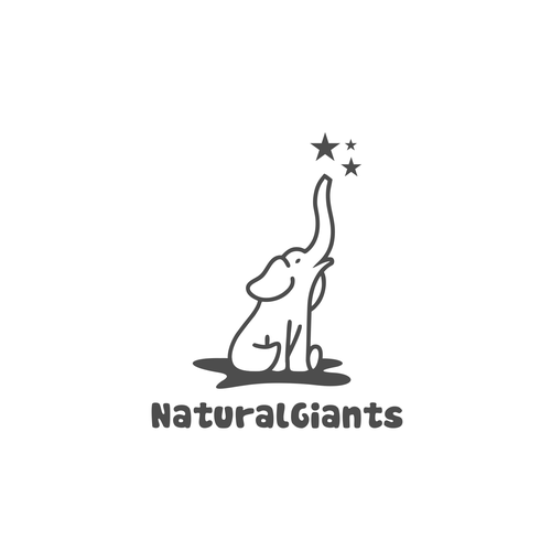 African logo with the title 'NaturalGiants'