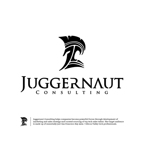 Trojan logo with the title 'Juggernaut Consulting'