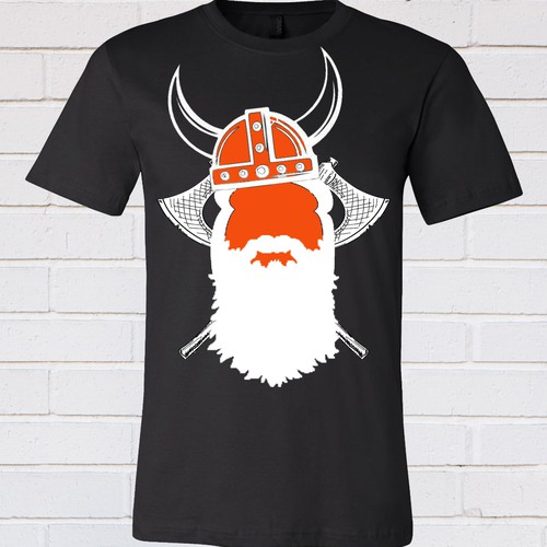 Viking t-shirt with the title 'Startup culture playful Viking theme'