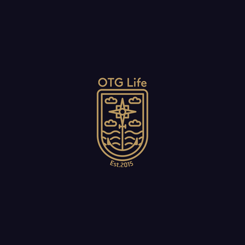 Yacht logo with the title 'Creative logo for a techno loving board sports company'