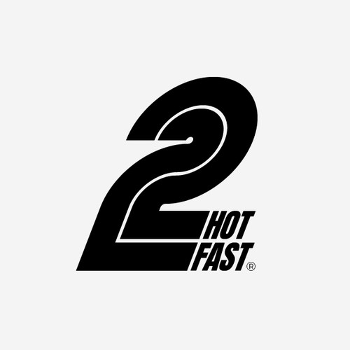 Speed design with the title '2 HOT 2 FAST'