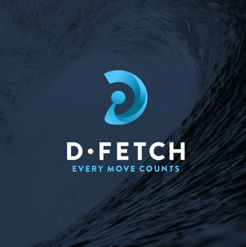 Wave brand with the title 'D+Wave Branding'