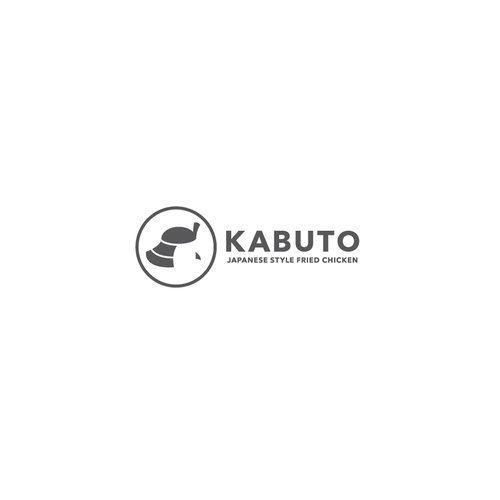 Fast food logo with the title 'Bold Kabuto logo'