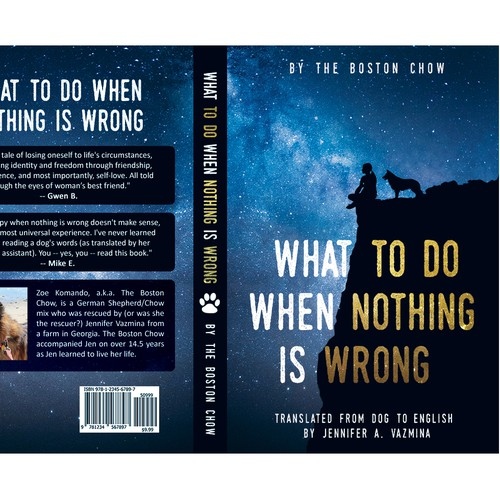 Eye-catching book cover with the title 'What to Do When Nothing Is Wrong'