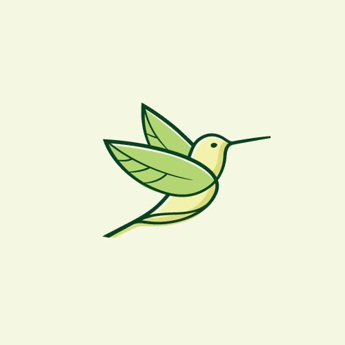Leaf logo with the title 'Winning Logo Design for Arizona Kombucha Co.'