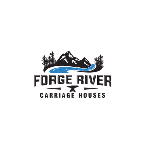 Forge design with the title 'Forge River'