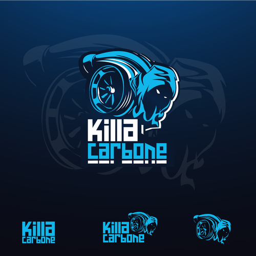 Twitch design with the title 'Killa Carbone'
