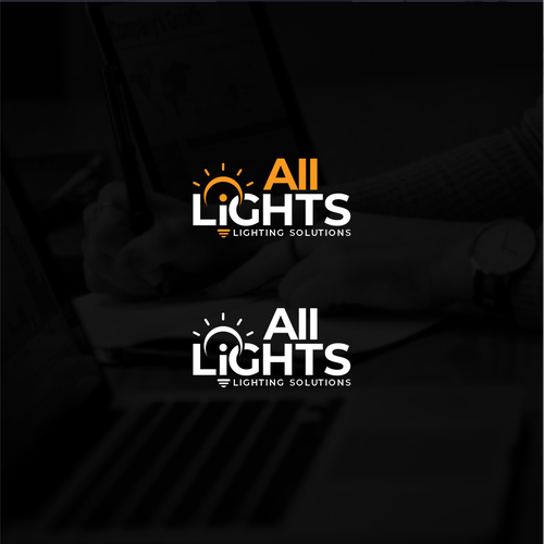 Light bulb logo with the title 'All Lights'