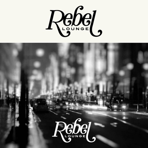 Lounge logo with the title 'Logo for Rebel Lounge'