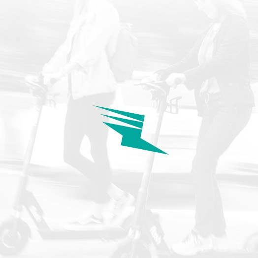Step logo with the title 'Logo for a Kick Scooter Brand'