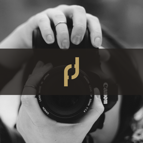 Photography brand with the title 'Clean logo for photography'