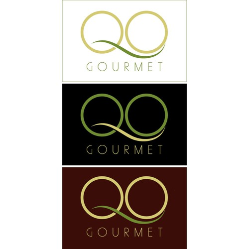 Q logo with the title 'QO Gourmet'