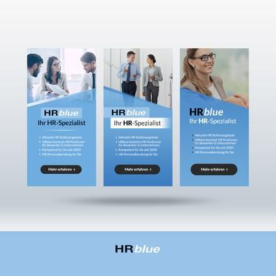 Banner ad concepts for HR management platform