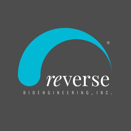 Biotech logo with the title 'reverse bioengineering'